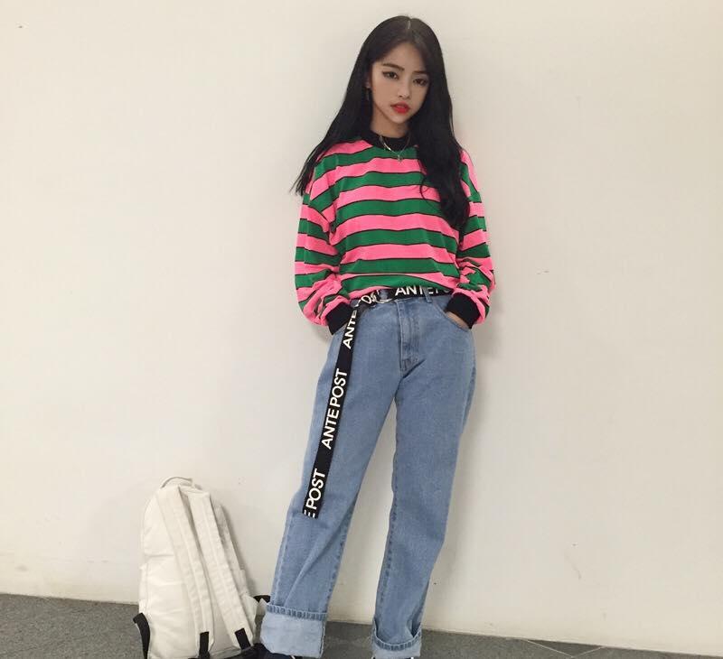Korean Fashion Style Jeans