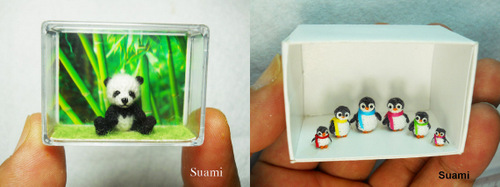 05-SuAmi-Mini-Crocheted-Animals-Panda-Bear-Penguin-Family