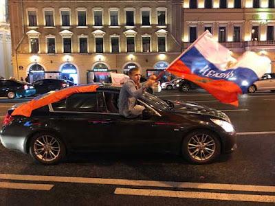 Russia celebrates