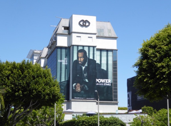 Power season 4 Starz billboard
