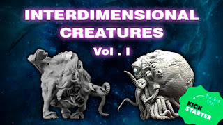 Interdimensional creatures