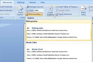 Tip Menyusun Karya Ilmiah Menggunakan Ms Word Part 3