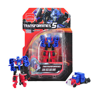 Transformers 5 AX101 Optimus Mini Deformation Robot Vehicle Toys Gifts Kids
