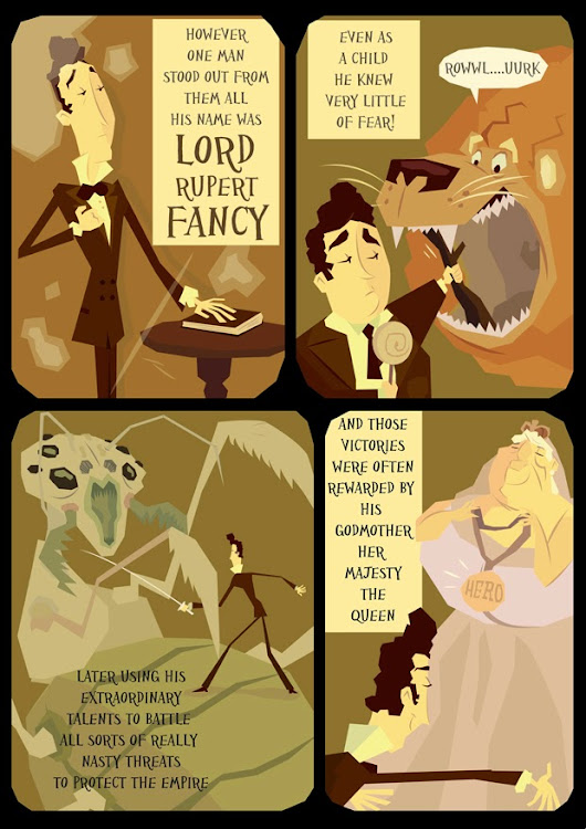 Lord Fancy Page Two