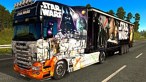 STAR WARS pack for Scania RJL