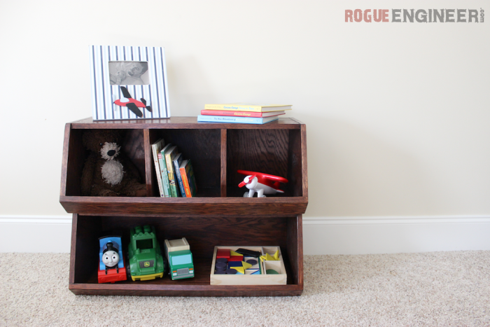 rogue engineer playroom storage bins