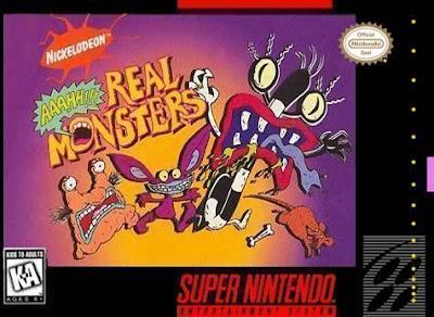 Rom de Aaahh!!! Real Monsters - PT-BR - SNES - Download