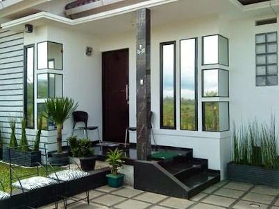Gambar Contoh Model Teras Depan Rumah Minimalis Cantik