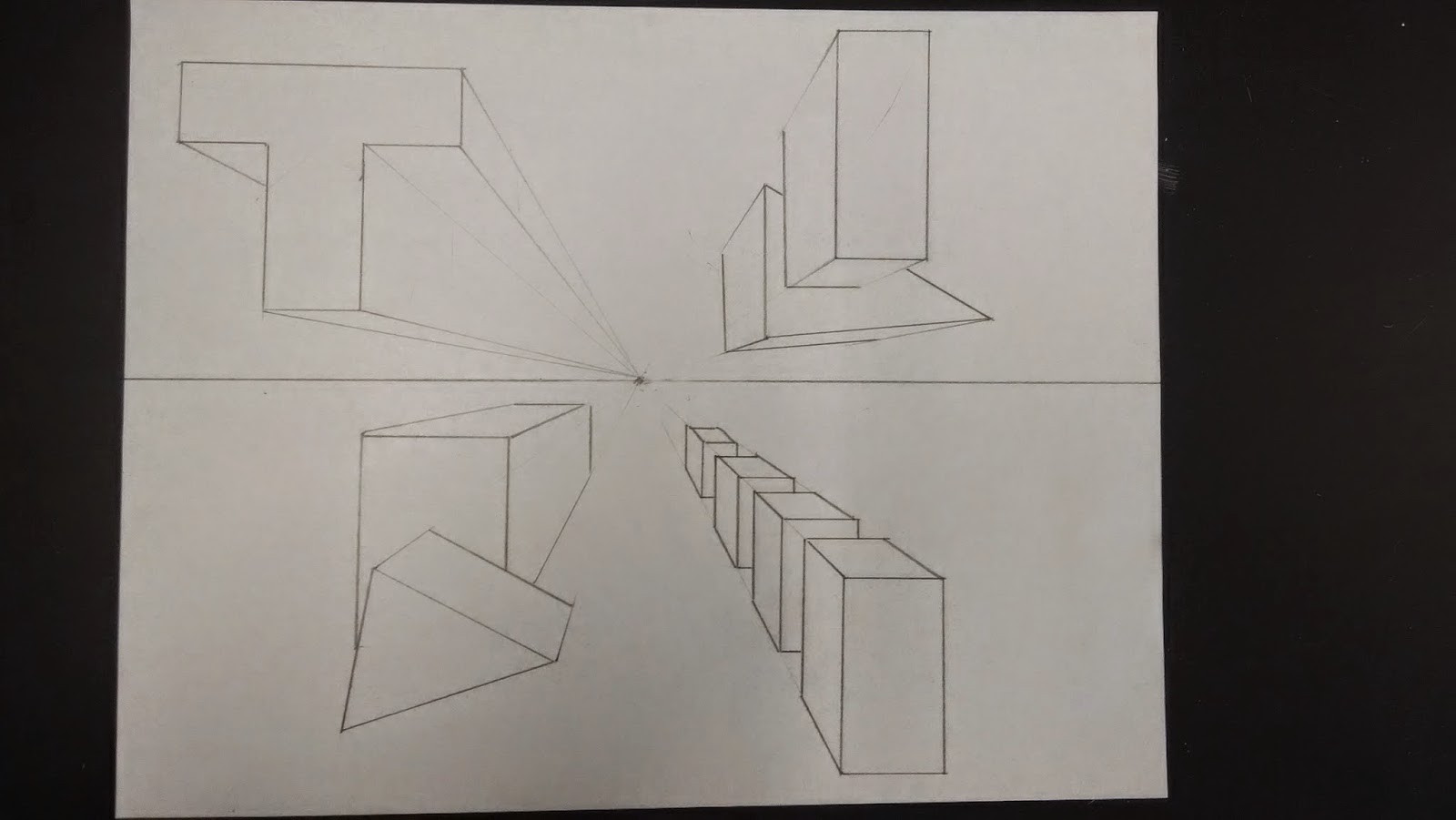 Mr Vandenberg S Art Classes One Point Perspective