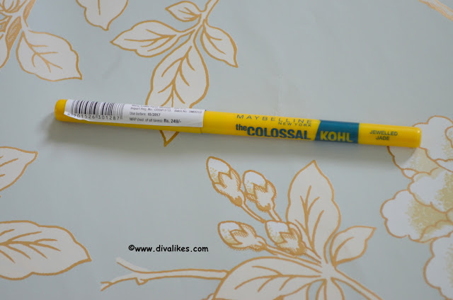 Maybelline Colossal Kohl Jewelled Jade