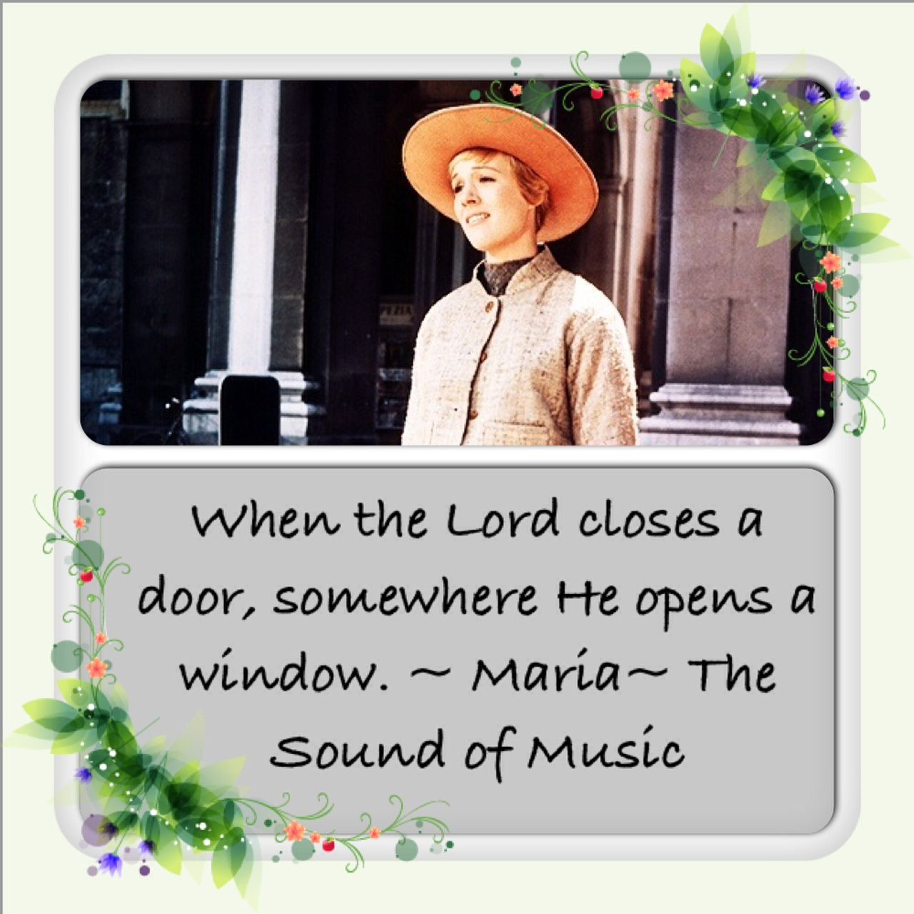 Closed Doors, Open Windows: Julie Andrews and I Have