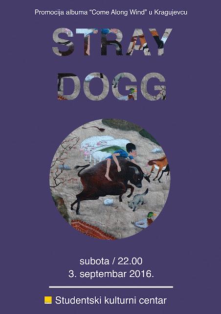 Stray Dogg ove subote u Kragujevcu