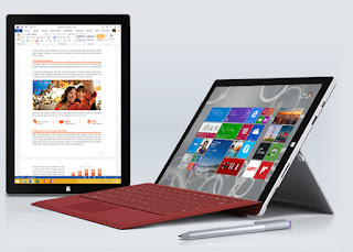 tablet z4 vs surface 3