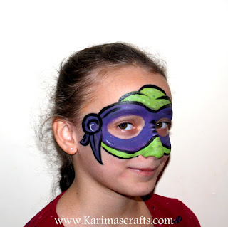 sci fi star wars dr who teenage mutant ninja turtles face painting