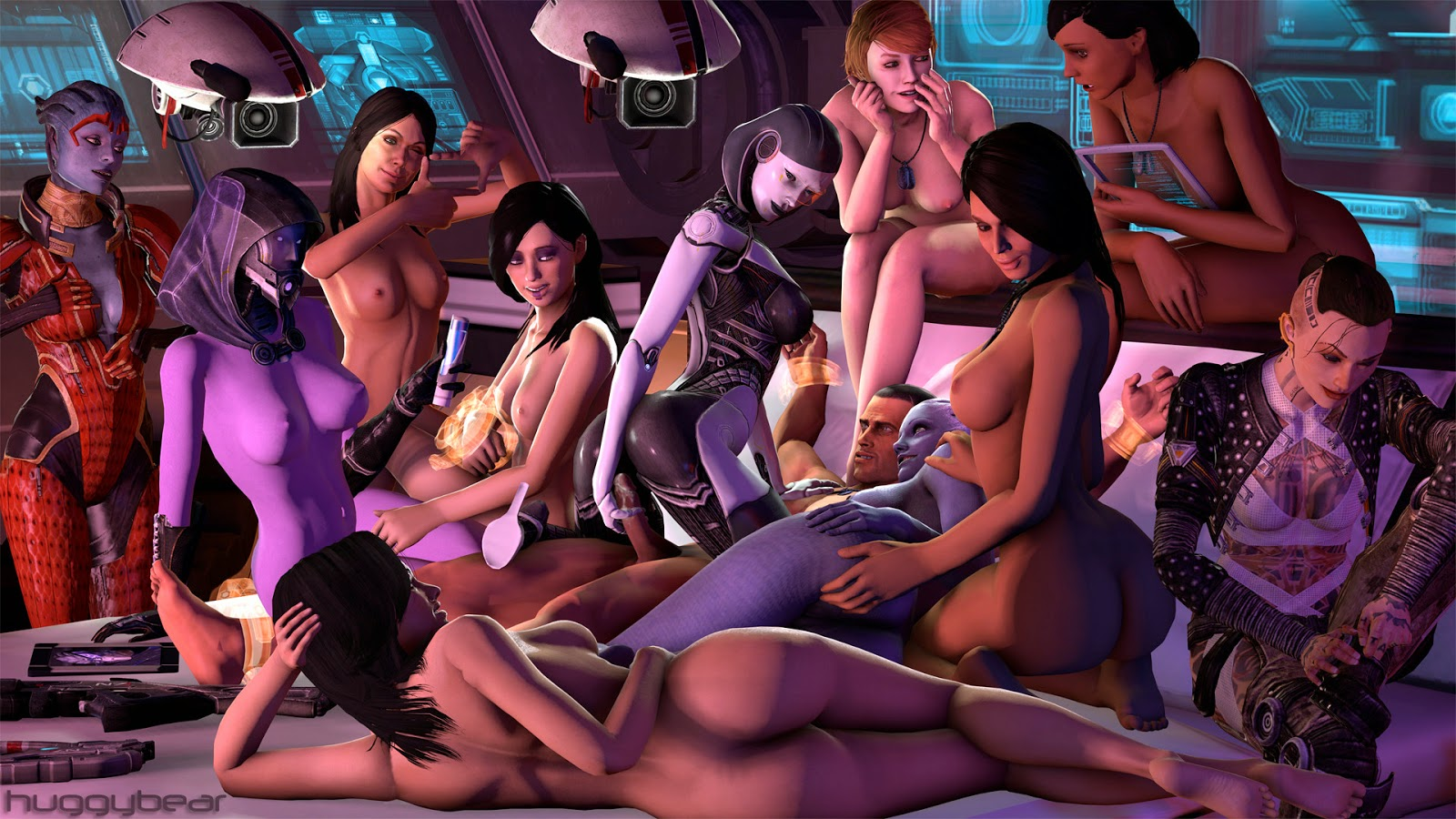 Mass effect nude