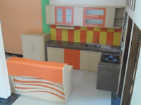 furniture interior semarang - kitchen set minibar 13
