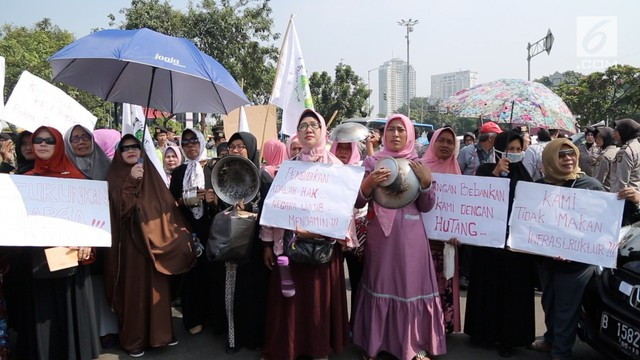 Bukan Meroket, Rupiah Malah Nyungsep; Emak-Emak Sudah Tak Percaya Jokowi