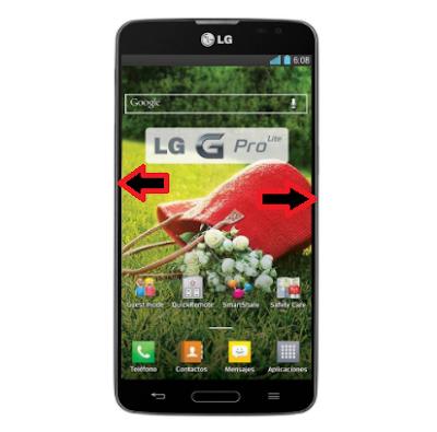 Cómo hacer hard reset a un celular LG G Pro Lite