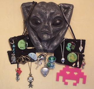 Lots of alien jewellery