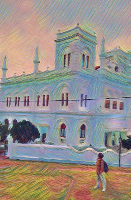 Masjid Meeran Jumma, Galle, Sri Lanka