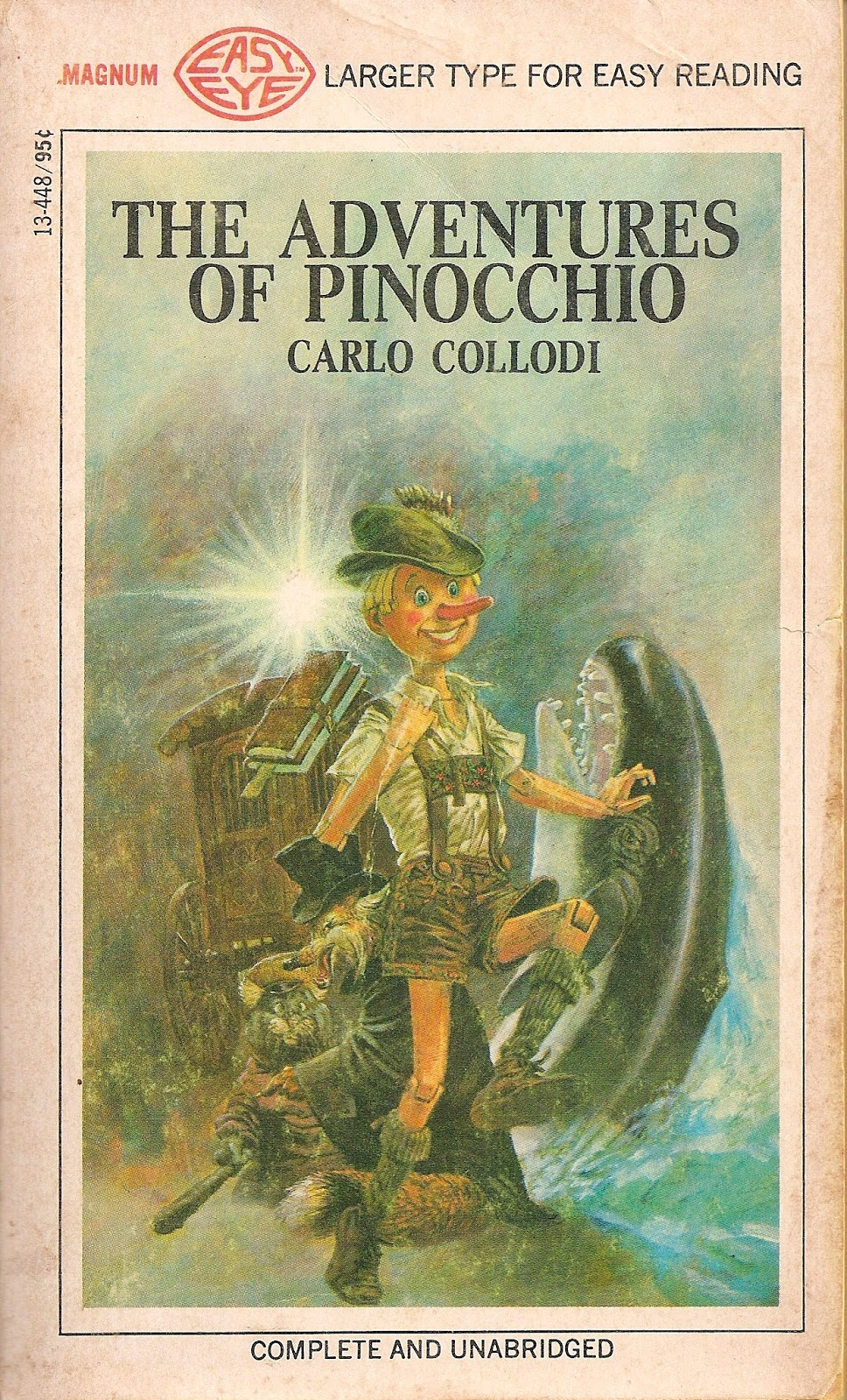 Magnum Easy Eye Books Blog: The Adventures Of Pinocchio