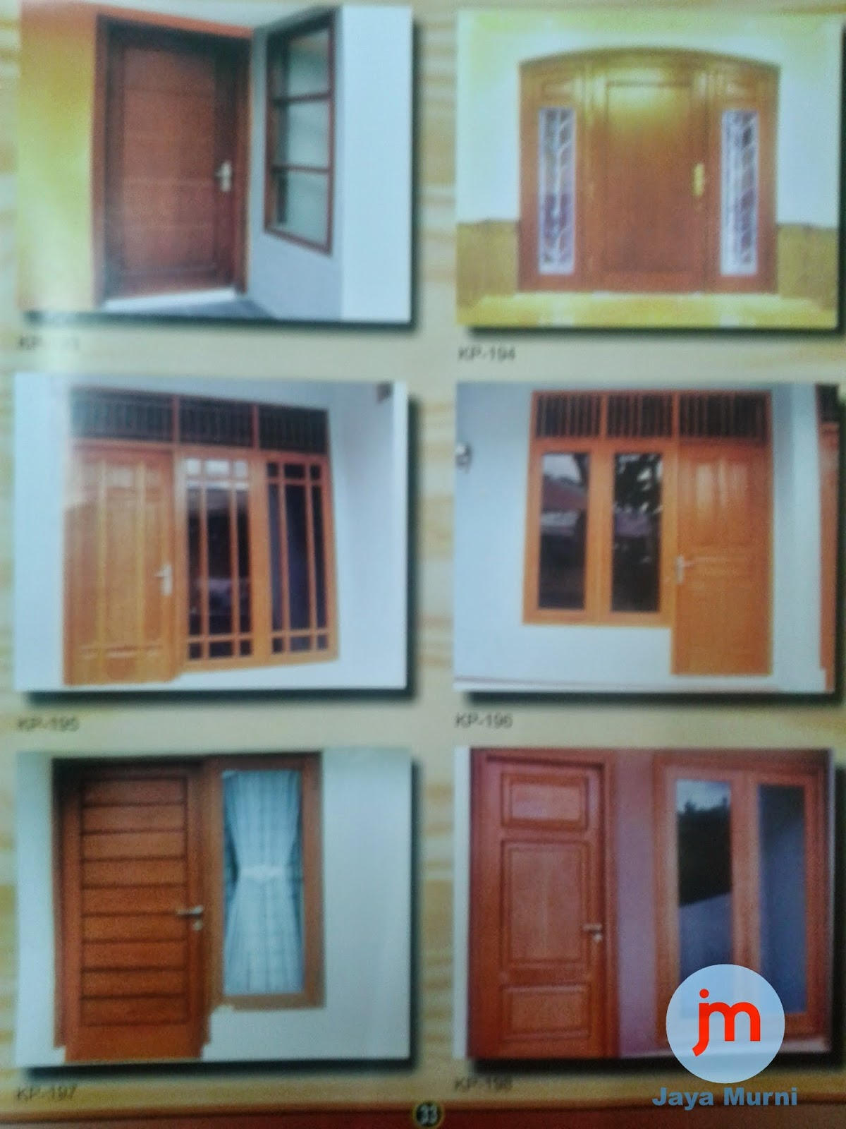 Sentral Penjualan Kusen Pintu Jendela Garasi Kayu