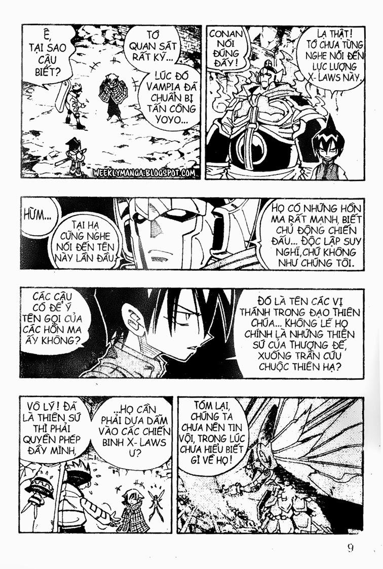 Shaman King [Vua pháp thuật] chap 104 trang 9