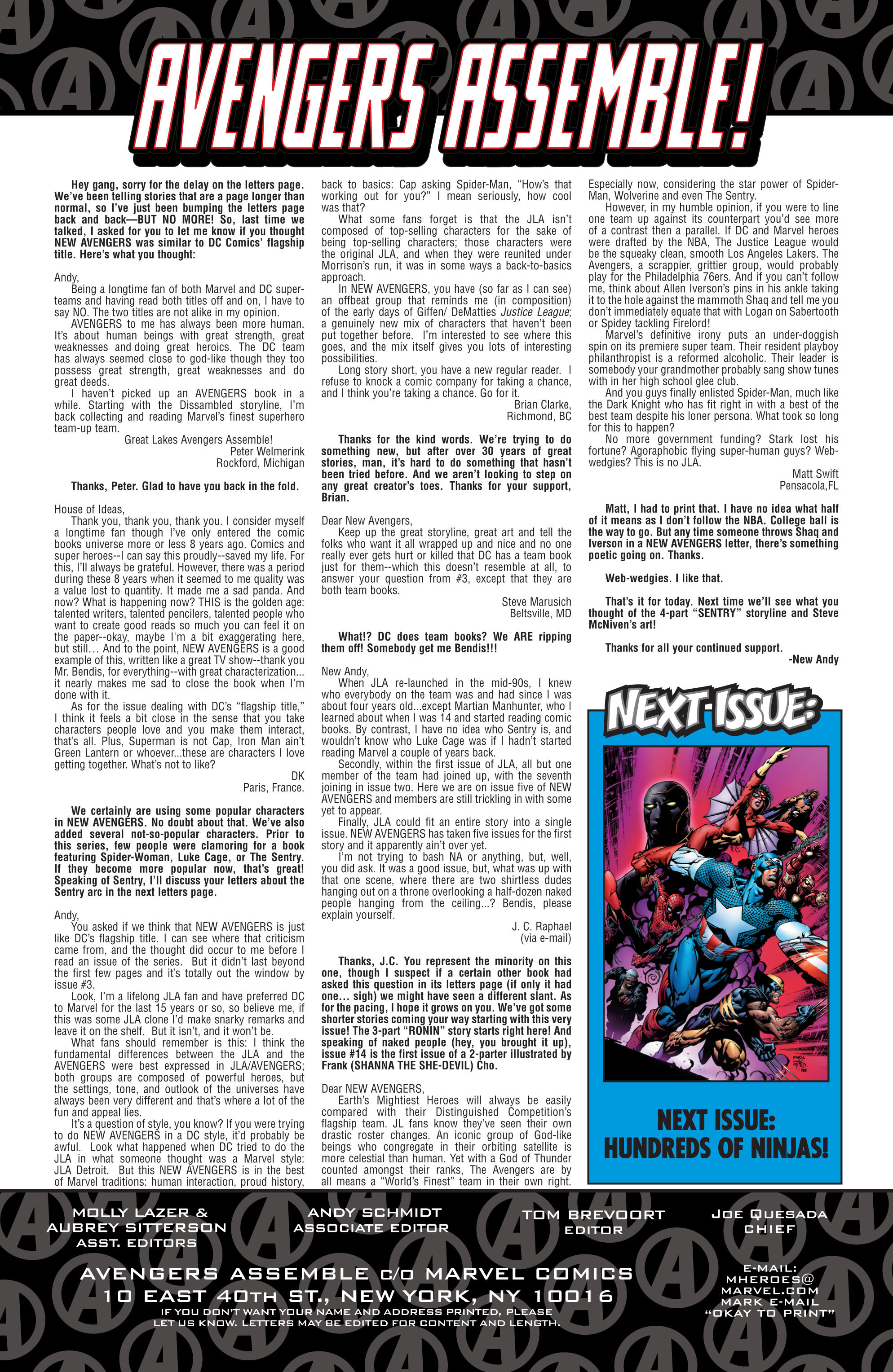 New Avengers (2005) issue 11 - Page 22