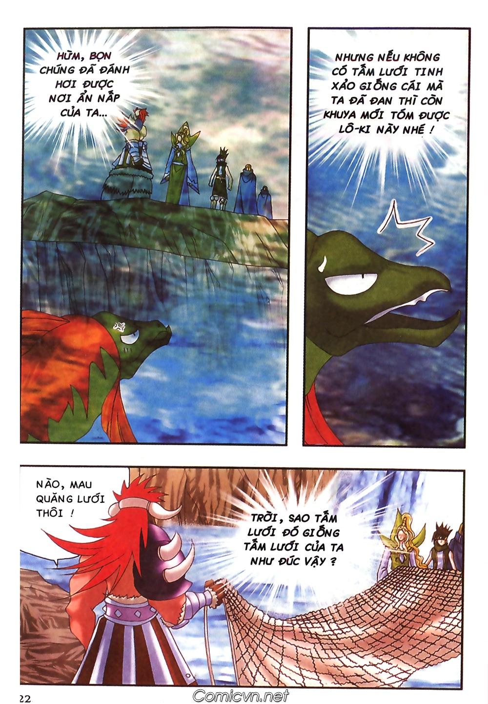 Thần thoại Bắc Âu - Chapter 47: Gieo gió gặt bão - Pic 23