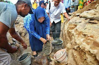 Pembangunan Masjid Al-Furqan Desa Timu Bolo, Dimulai