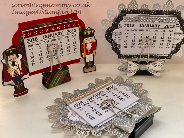 scrimpingmommy: Craft fair idea easy desk calendar