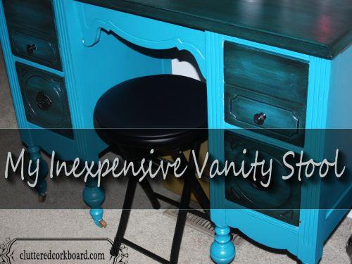 Inexpensive Vanity Stool