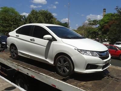 Caxias: Carro usado no assalto à agencia do BB é encontrado pela Policia