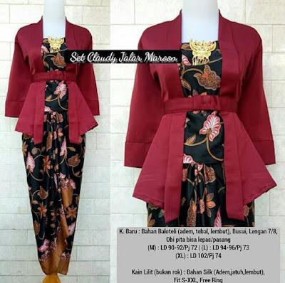 Model Baju Batik Perpisahan Smp Model Baju Terbaru 2019