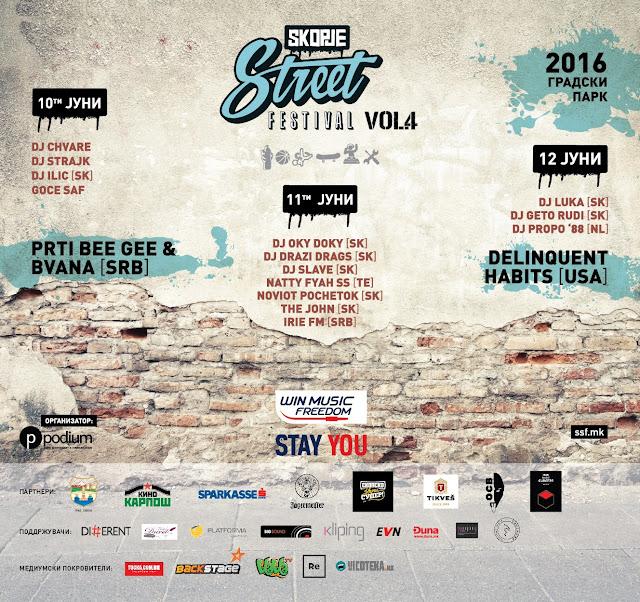 Skopje Street Festival Kicks Off Friday in City Park