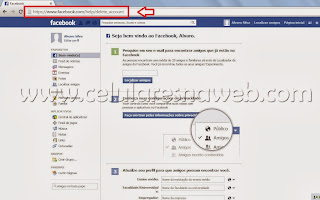 excluir permanentemente facebook