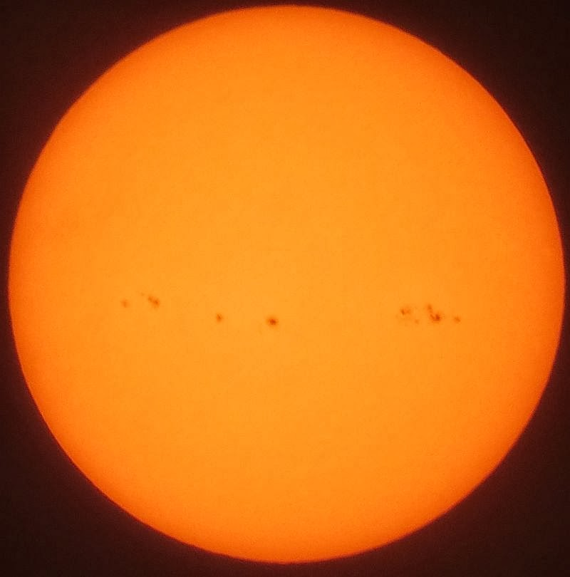 Sunspots  14/02/2014