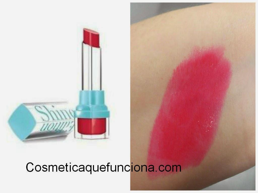 Bourjois Shine edition: 8 tonos de barra de labios para deslumbrar. - Blog de Belleza Cosmetica que Si Funciona