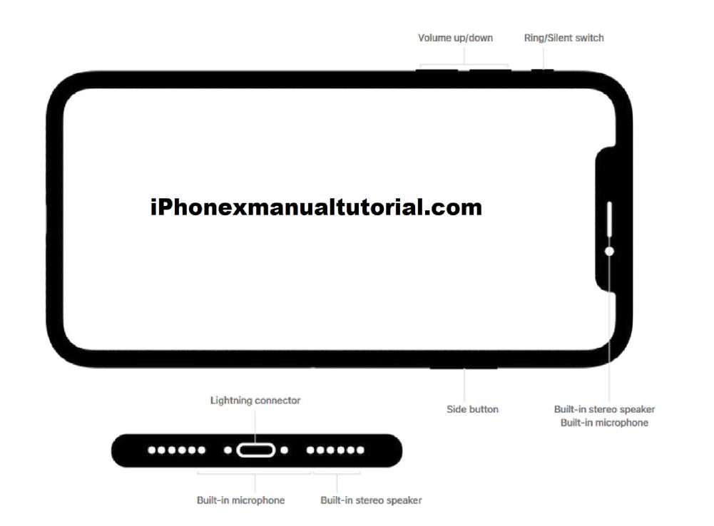 Iphone  Speaker Location