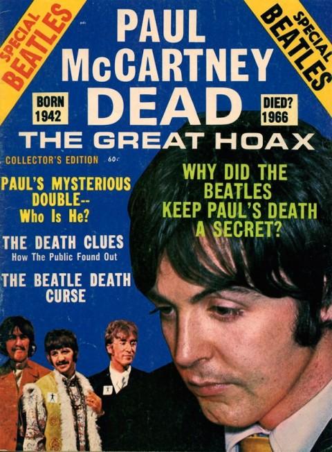 初代ポール・マッカートニーが事故死してから50年(ポール死亡説)
