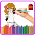 Nice Fashion Girl Coloring Book - Kids Coloring Game Crack, Tips, Tricks & Cheat Code