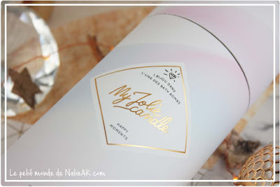 Coffret Happy moments My Jolie Candle