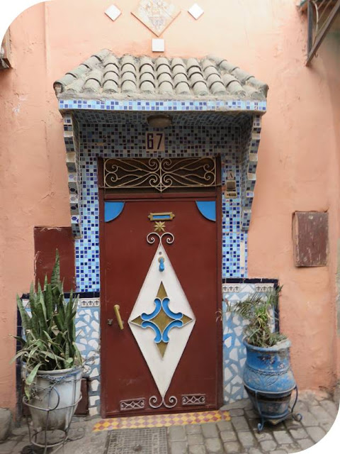 Long Weekend in Marrakech - Sidewalk Safari - Ornate Metal Doors