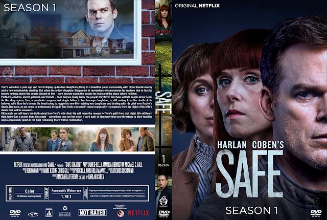 Safe Season 1 DVD Cover