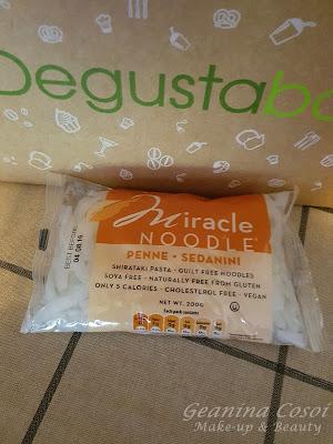 Miracle Noodle Caja Degustabox - Junio ´16