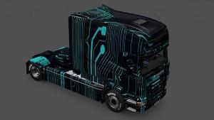Scania RJL Longline Cat Circuit Skin