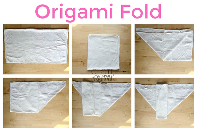 Origami Fold Cloth Diaper Revival