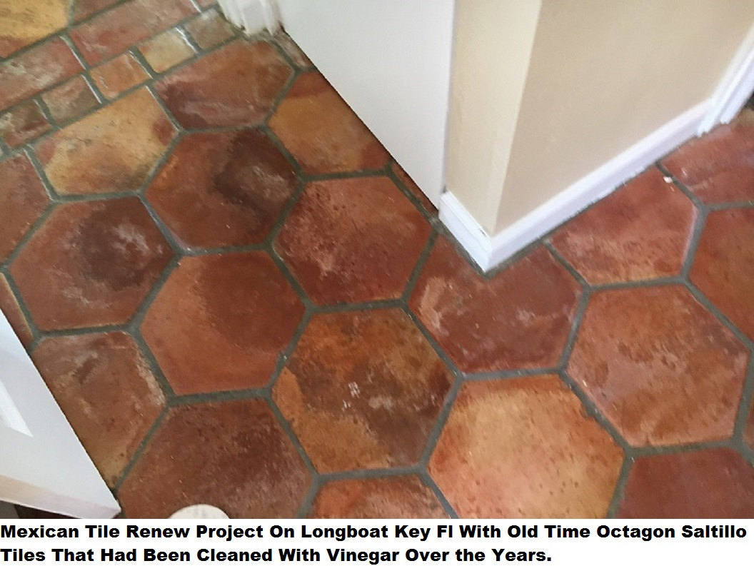Mexican Tile Renew Sarasota Fl Cleaning & Sealing: Mexican Tile ...