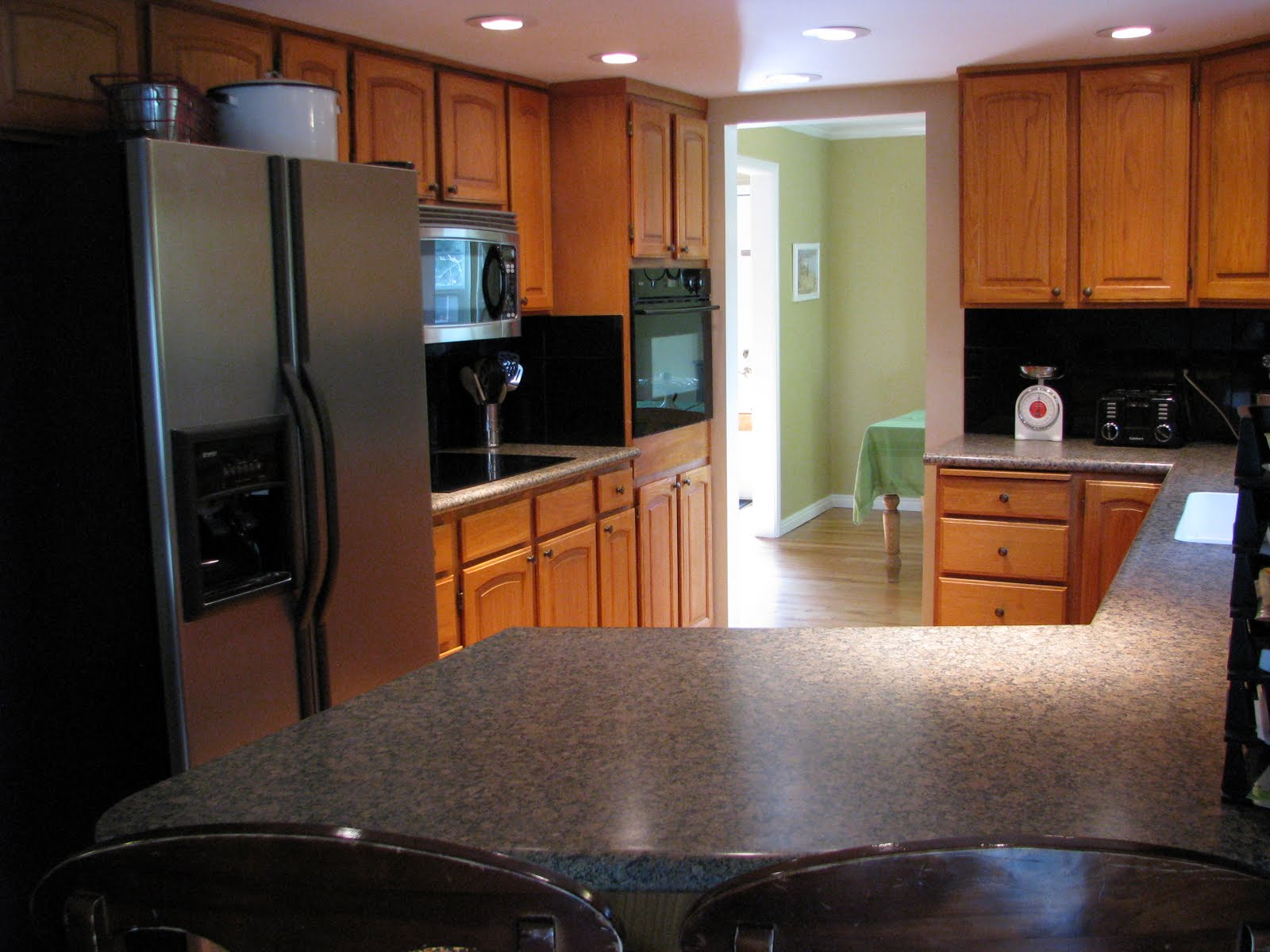 Kitchens with Golden Oak Cabinets