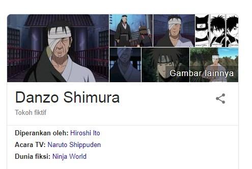 11 Fakta Menarik Shimura Danzo Dalam Anime Naruto Yang Harus Diketahui Para Fans
